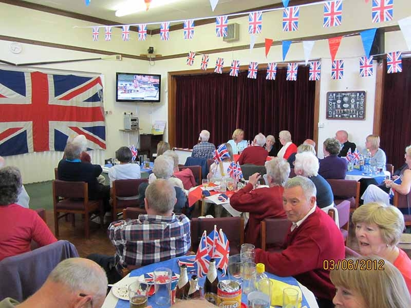 3 June 2012 Jubilee tea party